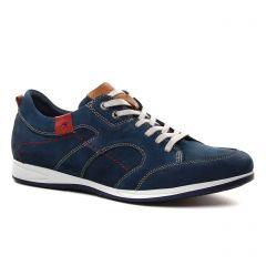 tennis bleu: même style de chaussures en ligne pour hommes que les Fluchos