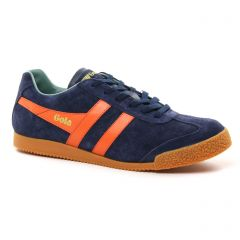 tennis bleu orange: même style de chaussures en ligne pour hommes que les Fluchos