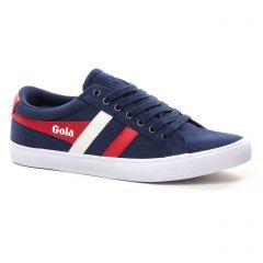 Chaussures homme été 2021 - tennis Gola bleu rouge