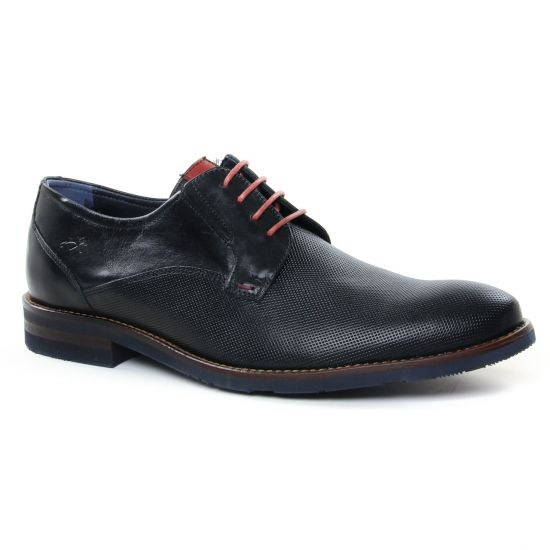 Chaussures Basses À Lacets Fluchos F0123 Memory Micro Negro, vue principale de la chaussure homme