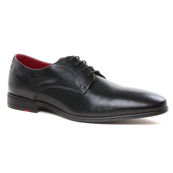Chaussures Basses À Lacets Fluchos F0842 Memory Negro, vue principale de la chaussure homme