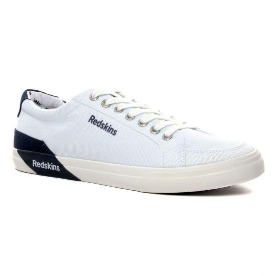 Tennis Redskins Forman Blanc Marine, vue principale de la chaussure homme