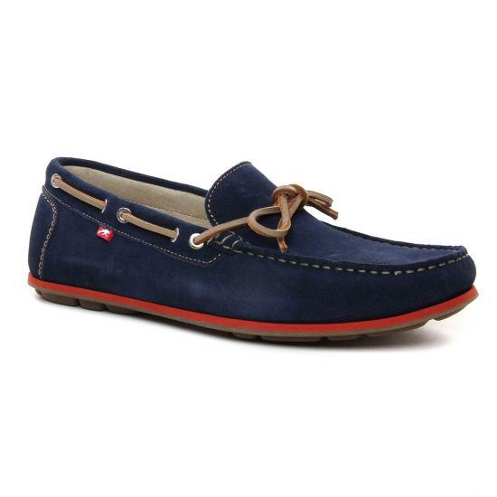 Mocassins Et Bateaux Fluchos F0425 Afelpado Zafiro, vue principale de la chaussure homme