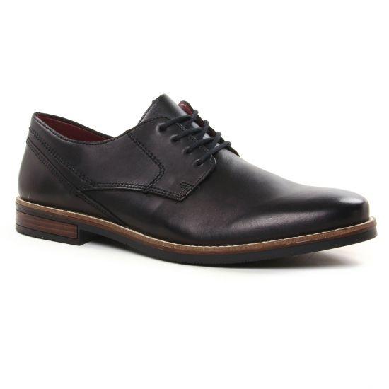 Chaussures Basses À Lacets Rieker 13519-00 Nero, vue principale de la chaussure homme