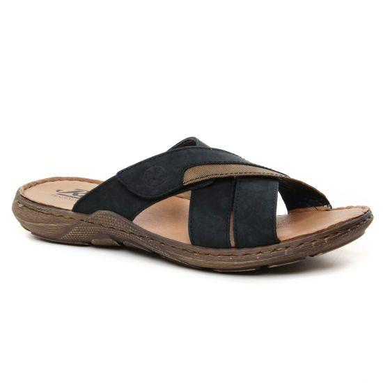 Sandales Rieker 22096-14 Ozean, vue principale de la chaussure homme