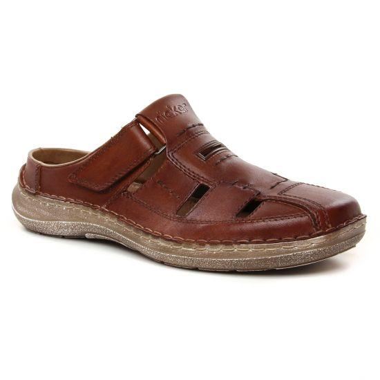 Sandales Rieker 03085-24 Amaretto, vue principale de la chaussure homme