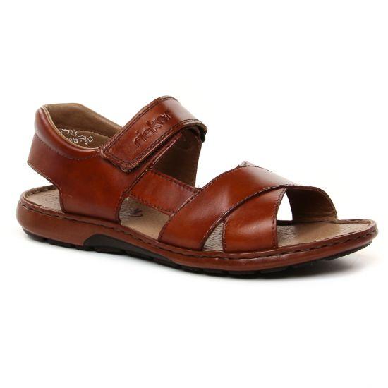 Sandales Rieker 28963-24 Peanut, vue principale de la chaussure homme