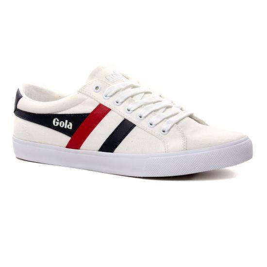 Tennis Gola Varsity White Navy, vue principale de la chaussure homme