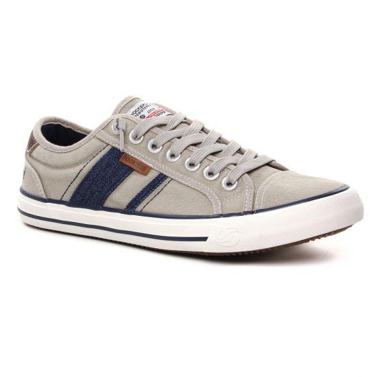 Tennis Dockers 42Jz004 Beige, vue principale de la chaussure homme