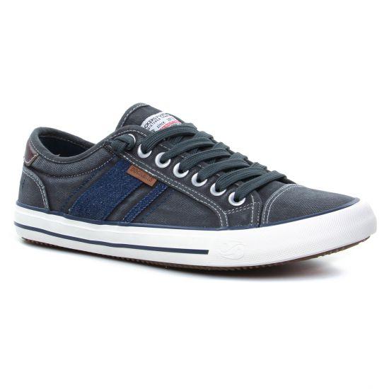 Tennis Dockers 42Jz004 Grau, vue principale de la chaussure homme