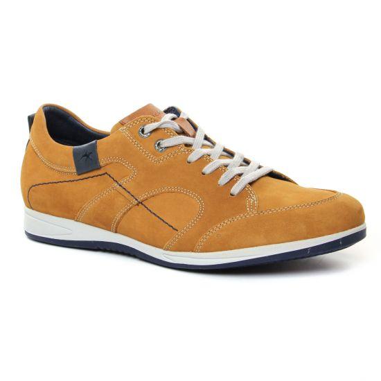 Tennis Fluchos 9734 Creta Timber Cuero, vue principale de la chaussure homme