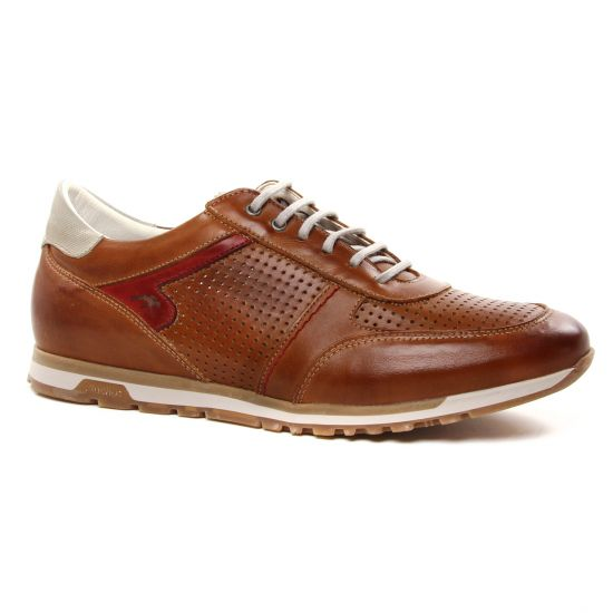 Tennis Fluchos F1188 Habana Cuero, vue principale de la chaussure homme