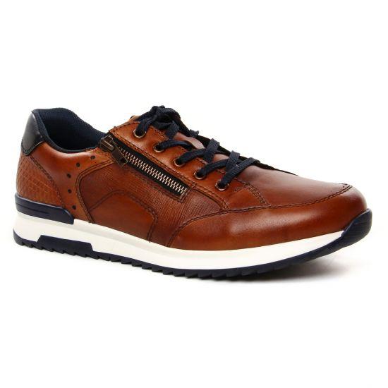Tennis Rieker 16128-24 Peanut, vue principale de la chaussure homme
