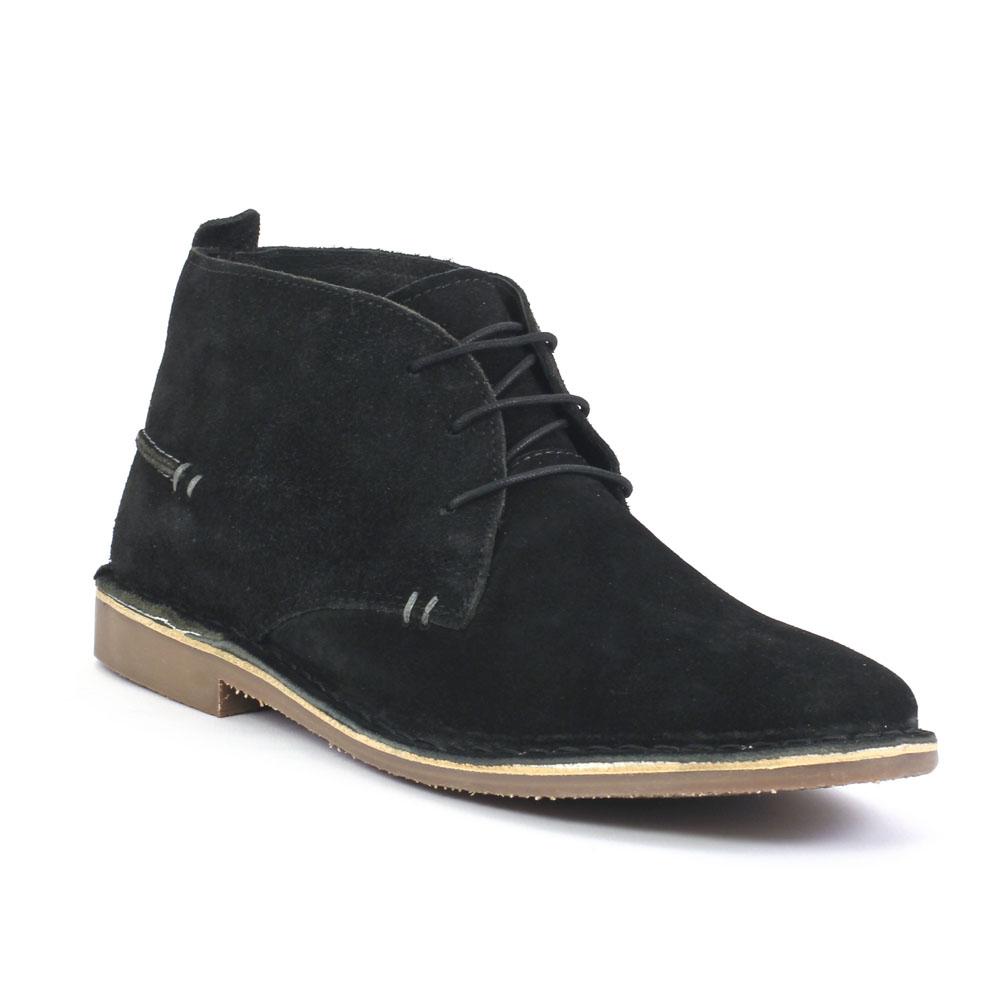 cb81726170b chaussures montantes noir mode homme automne hiver vue 1