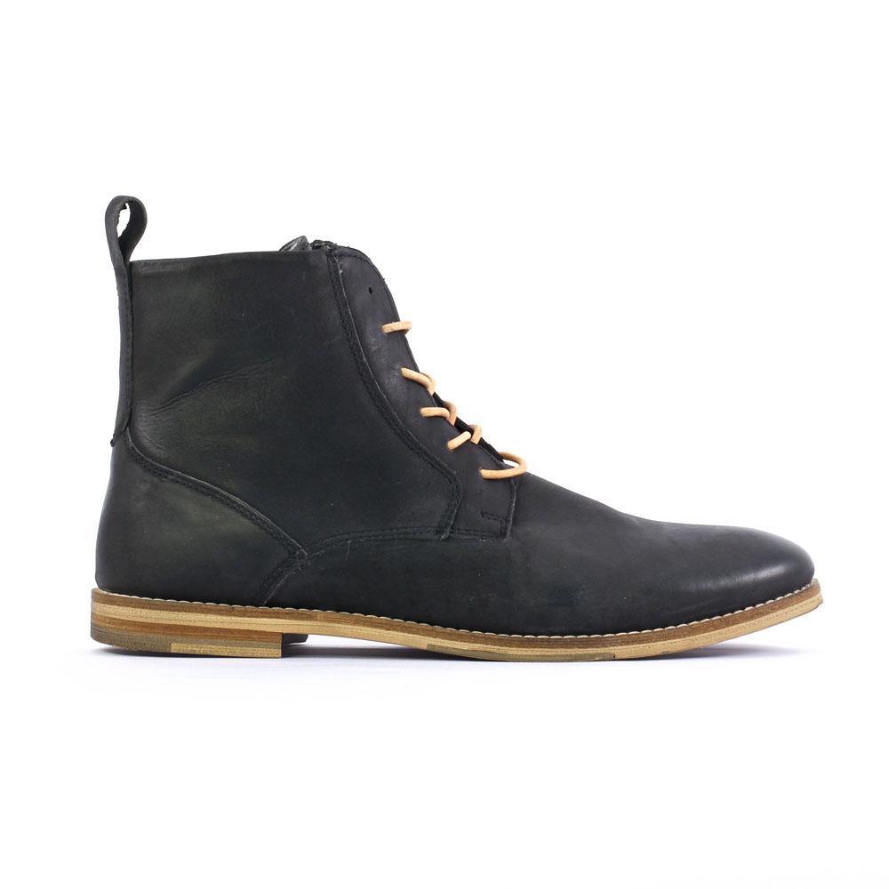 46c2f4d8716 chaussures montantes noir mode homme automne hiver vue 2