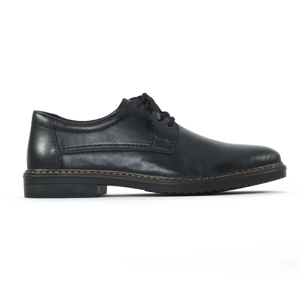 Chaussure À Lacets Noir Rieker Rieker 00icbpA3d