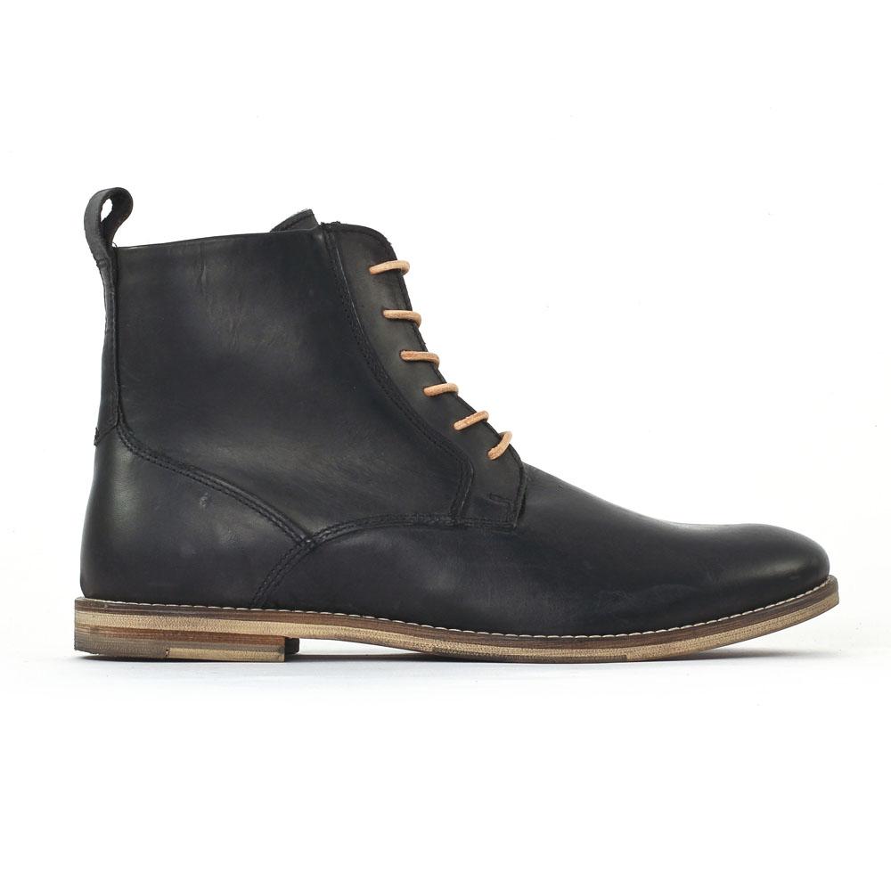 greenstone looperi02 noir chaussure montantes noir automne hiver chez trois par 3. Black Bedroom Furniture Sets. Home Design Ideas