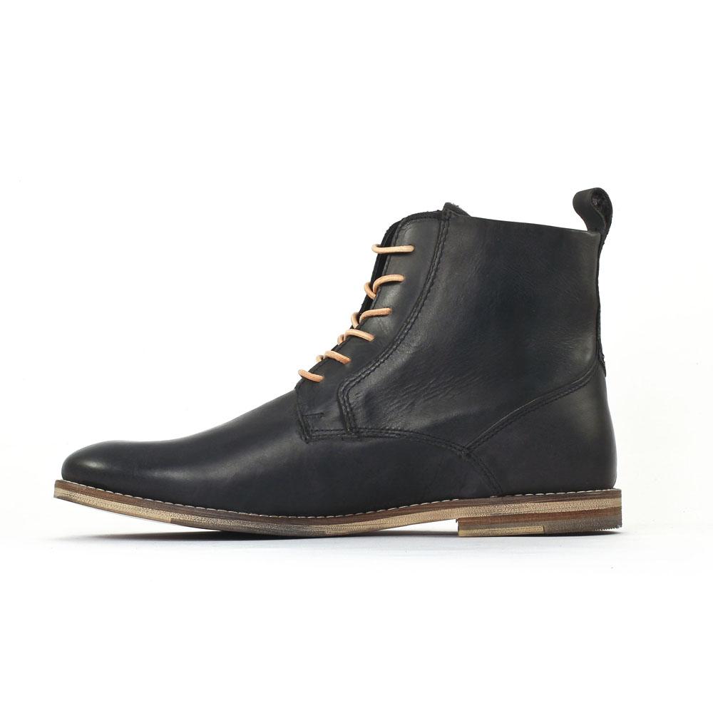 greenstone looperi02 noir chaussure montantes noir. Black Bedroom Furniture Sets. Home Design Ideas