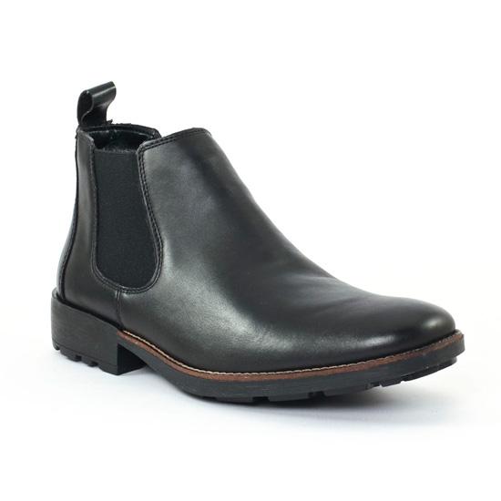 Chaussures Montantes Rieker 36082 Schwarz, vue principale de la chaussure homme