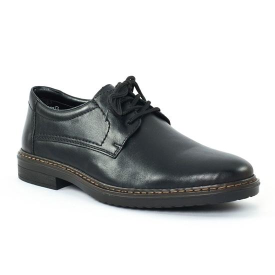Rieker Chaussures à lacets noir naPoJp6Si
