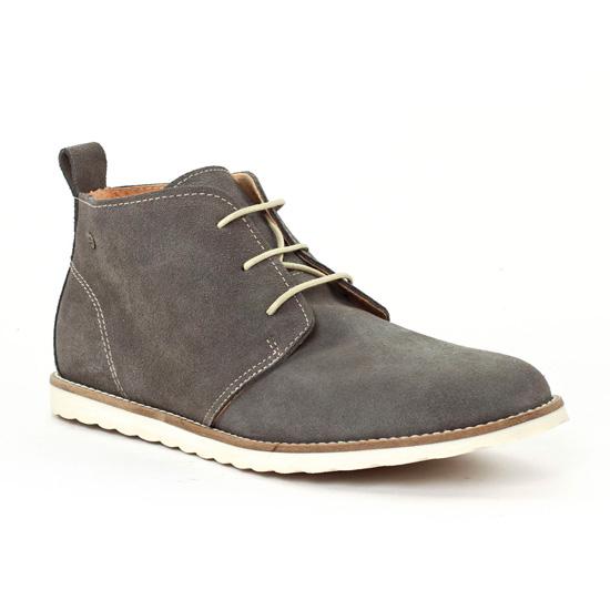 Chaussures Montantes Gioseppo 25018 Gris, vue principale de la chaussure homme
