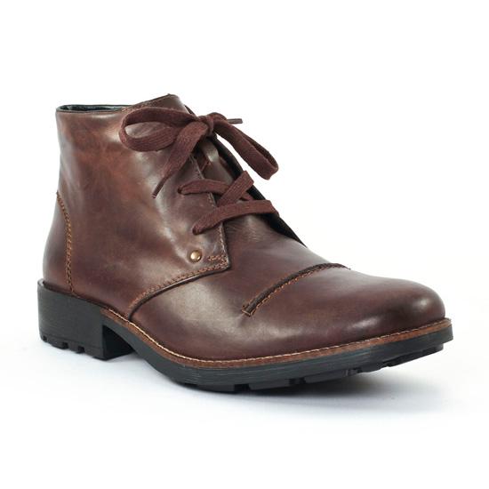 Chaussures Montantes Rieker 36000 Nougat, vue principale de la chaussure homme
