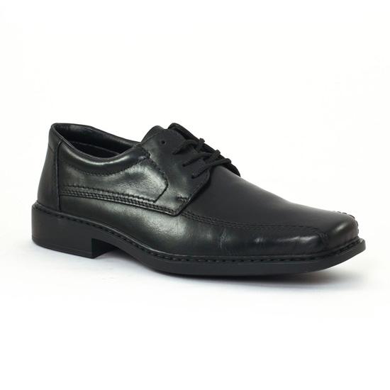 Chaussures Basses À Lacets Rieker b0812 Nero, vue principale de la chaussure homme