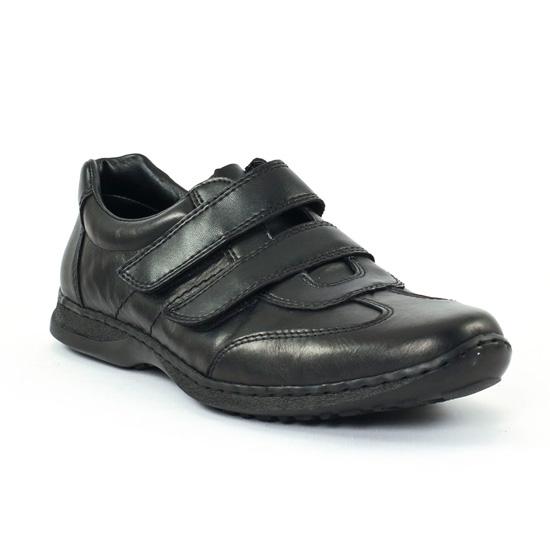 Mocassins Et Bateaux Rieker 04750 Schwarz, vue principale de la chaussure homme