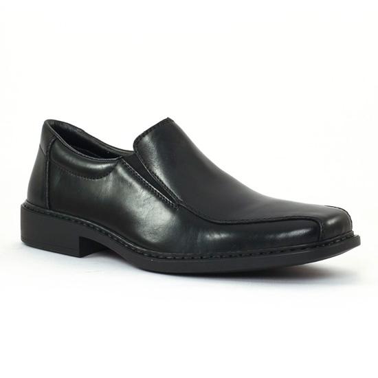Mocassins Et Bateaux Rieker b0870 Nero, vue principale de la chaussure homme