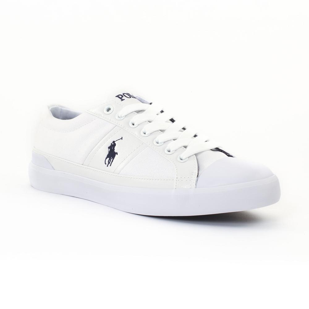 Polo Ralph Lauren A85Y2126 White   tennis blanc automne hiver chez