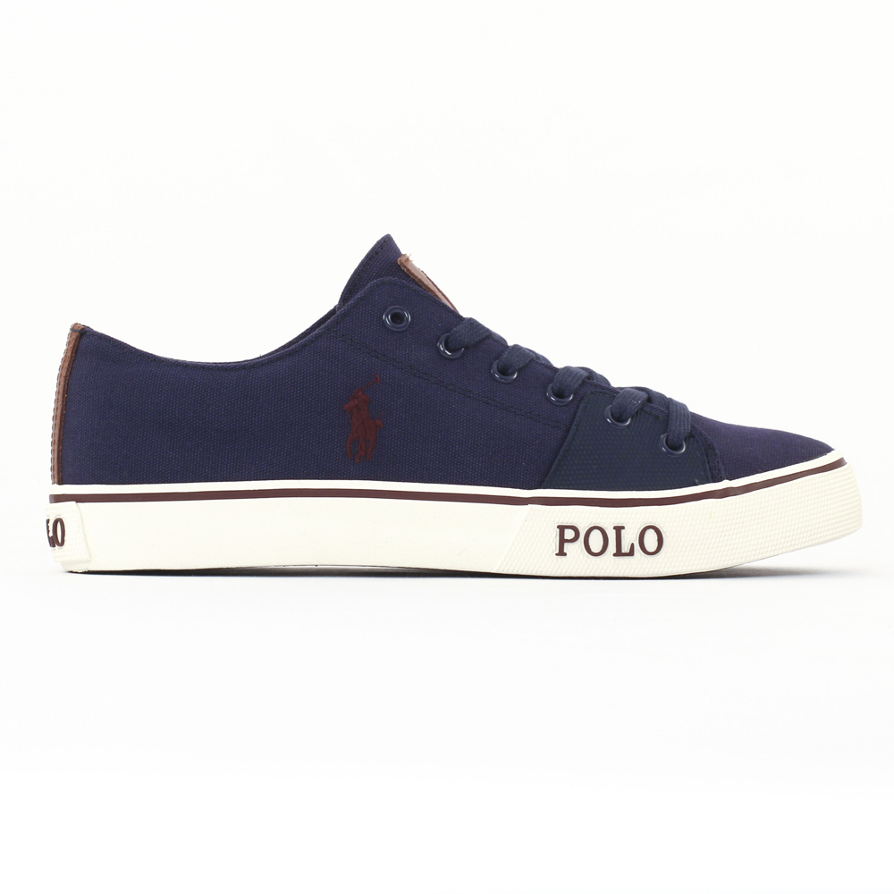 Chaussures Polo Ralph Lauren bleues homme