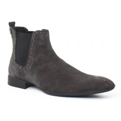 Chaussures homme hiver 2015 - boots Amoroso marron taupe
