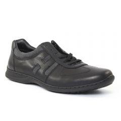 Chaussures homme hiver 2015 - chaussures basses à lacets rieker noir