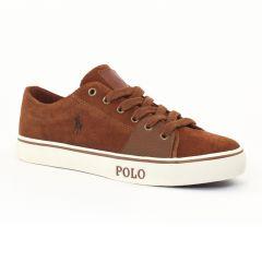 Chaussures homme hiver 2015 - tennis Polo Ralph Lauren marron