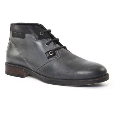 Chaussures Montantes Amoroso Opi Gris, vue principale de la chaussure homme
