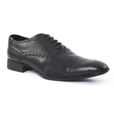 Chaussures Basses À Lacets Amoroso James Noir, vue principale de la chaussure homme