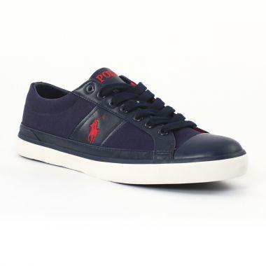 Tennis Polo Ralph Lauren a85y2126 Navy, vue principale de la chaussure homme