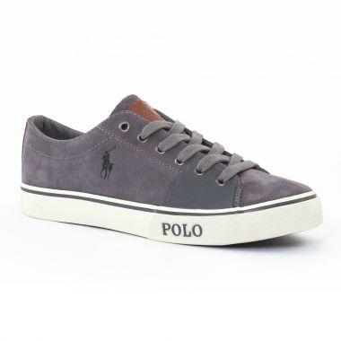 Tennis Polo Ralph Lauren a85y2001 Grey, vue principale de la chaussure homme