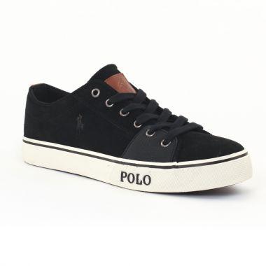 Tennis Polo Ralph Lauren a85y2001 Black, vue principale de la chaussure homme