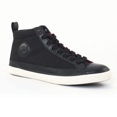 Tennis Polo Ralph Lauren a85y2127 Black, vue principale de la chaussure homme
