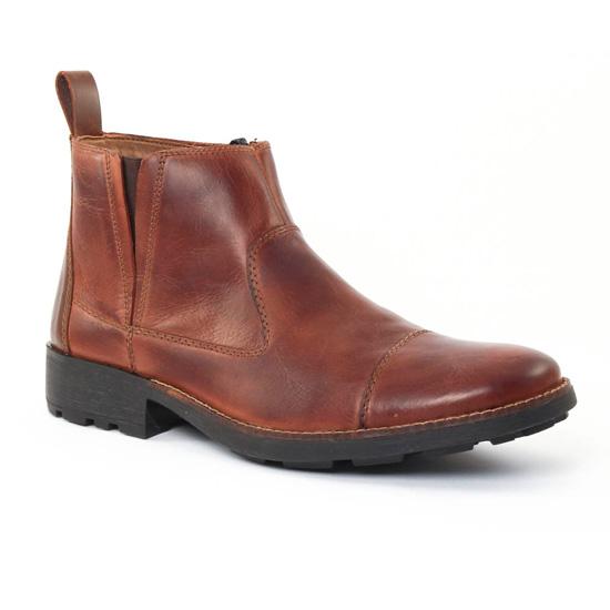 Chaussures Montantes Rieker 36050 Marron, vue principale de la chaussure homme