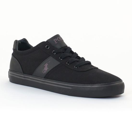 Tennis Polo Ralph Lauren a85y2139 Black, vue principale de la chaussure homme