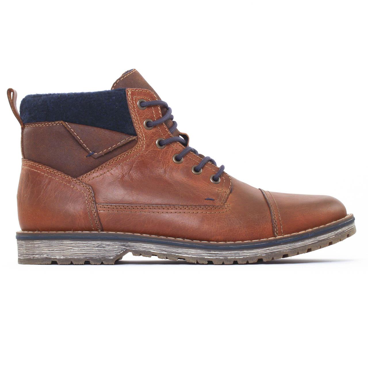 c57e39f7d4c0 Rieker 39230 Marron | chaussure montantes marron automne hiver chez ...