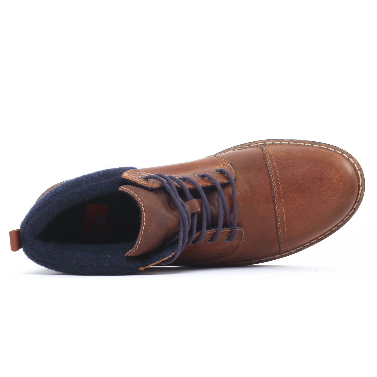 chaussure homme montante marron