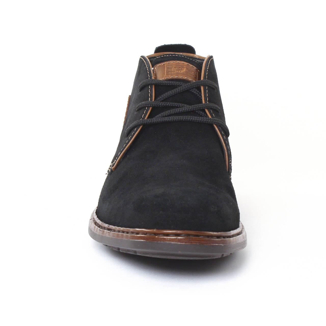 04d2dd5dc9a4 Rieker F1211 Schwarz | chaussure montantes noir automne hiver chez ...