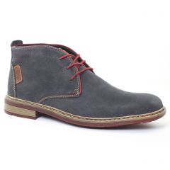 Chaussures homme hiver 2016 - chaussures montantes rieker gris