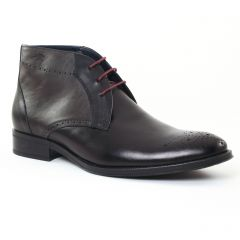 Chaussures homme hiver 2016 - chaussures montantes Fluchos noir gris