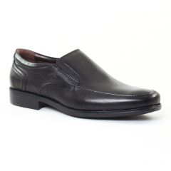 Chaussures homme hiver 2016 - mocassins Fluchos noir