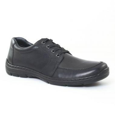Chaussures Basses À Lacets Rieker 15223 Noir, vue principale de la chaussure homme
