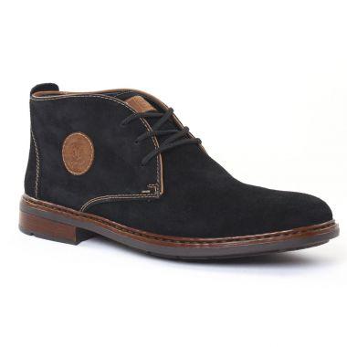 Chaussures Montantes Rieker F1211 Schwarz, vue principale de la chaussure homme
